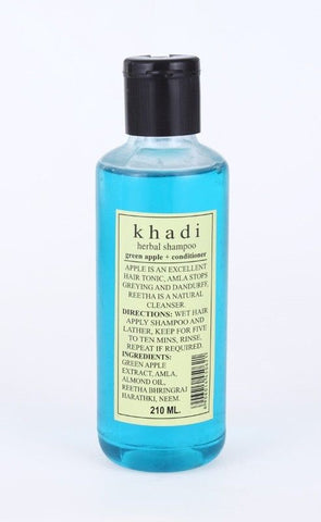 Khadi Green Apple + Conditioner Shampoo