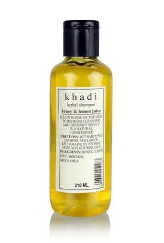 Khadi Herbal Shampoo with Honey & Lemon Juice