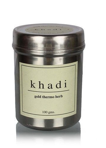 Khadi Gold thermo Herb (skin tightning face pack)
