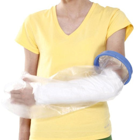 Reusable Arm Cast Cover, Easy Self-wear, Light & Travel-friendly Keeps Cast and Bandage Waterproof