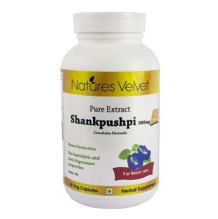 Natures Velvet Shankpushpi Pure Extract, 60 capsules