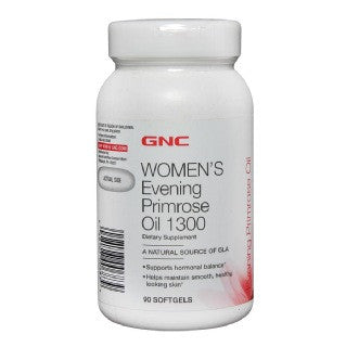 GNC Womens Evening Primrose Oil (1300 mg), 90 softgels