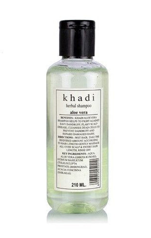 Khadi Herbal Aloevera Shampoo