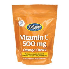 Vitamin Shoppe Vitamin C (500 mg), Orange 60 chewable tablet(s)