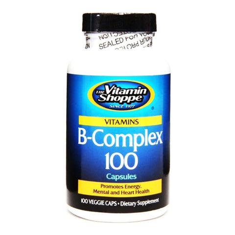 Vitamin Shoppe B Complex 100, Unflavoured 100 tablet(s)
