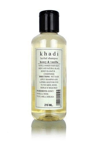 Khadi Herbal Shampoo Honey & Vanilla