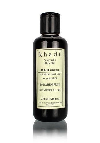 KHADI 18 HERBS HAIR OIL
