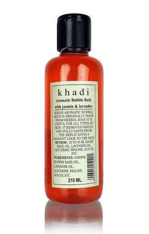 Khadi Herbal Aromatic Bubble Bath