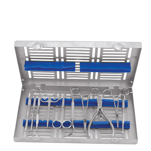 Dental Instruments Kit Surgical Instruments S/10 SIWC10