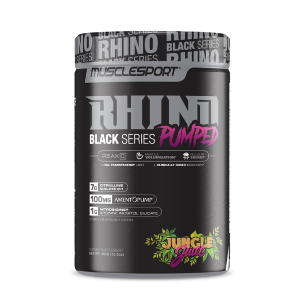 Rhino Pumped Black Series