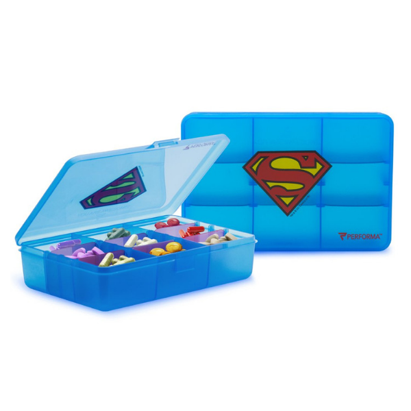 Superhero Pill Container Chest