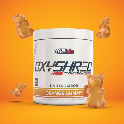 LIMITED EDITION Oxyshred Orange Gummy