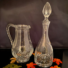 Decanter and Water Pitcher in Lexington