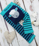 Blade and Rose Baby Leggings-Accessories-Blade and Rose-Sheep Baby Leggings-0-6 months-Koala Slings - FREE, fast UK shipping