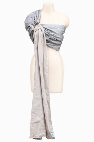Soul Slings ring sling - double layer-Ring Slings-Soul Slings-Cashew Chambray-Koala Slings - FREE, fast UK shipping