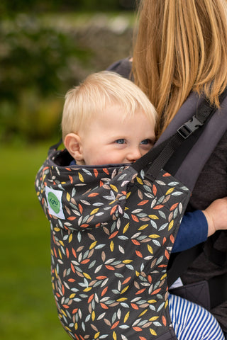 KahuBaby Carrier - Leaves-Buckled carriers-KahuBaby-Koala Slings - FREE, fast UK shipping