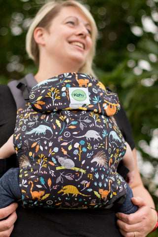 KahuBaby Carrier - Hanging Around-Buckled carriers-KahuBaby-Koala Slings - FREE, fast UK shipping