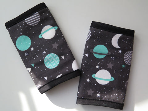 Teething pads for TwinGo Carrier, Tula Baby, other baby carrier brands-Accessories-Koala Slings-Mint Planets Teething Pads-Koala Slings - FREE, fast UK shipping