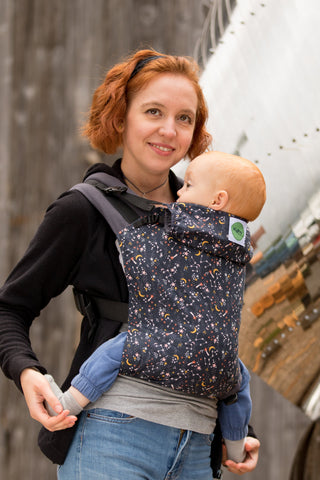 KahuBaby Carrier - Under The Stars-Buckled carriers-KahuBaby-Koala Slings - FREE, fast UK shipping