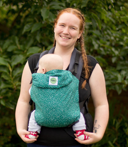 KahuBaby Carrier Hire - Pine Dash - Hire-Sling Library-KahuBaby-Two week hire-Koala Slings - FREE, fast UK shipping