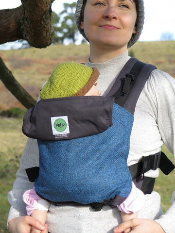 KahuBaby Carrier - Herdwick Tweed, Swirl Crag-Buckled carriers-KahuBaby-Koala Slings - FREE, fast UK shipping