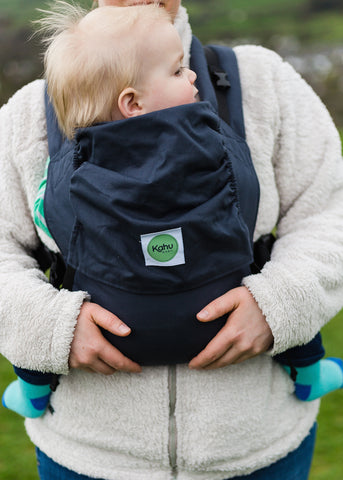 KahuBaby Carrier - Slate-Buckled carriers-KahuBaby-Koala Slings - FREE, fast UK shipping