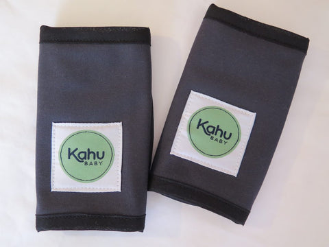 KahuBaby Teething Pads - Slate-Accessories-KahuBaby-Koala Slings - FREE, fast UK shipping
