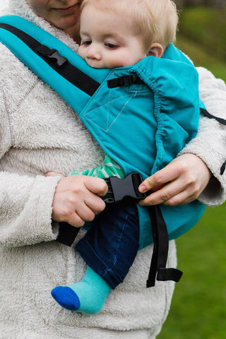 KahuBaby Carrier Hire - Ullswater Teal - Hire-Sling Library-KahuBaby-Two week hire-Koala Slings - FREE, fast UK shipping