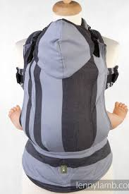 Lenny Lamb Ergonomic Baby Carrier - SALE-Buckled carriers-Lenny Lamb-Stardust - Lenny Lamb Baby Carrier-Koala Slings - FREE, fast UK shipping