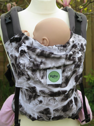 KahuBaby Sunshine Carrier - Marble-Buckled carriers-KahuBaby-Koala Slings - FREE, fast UK shipping