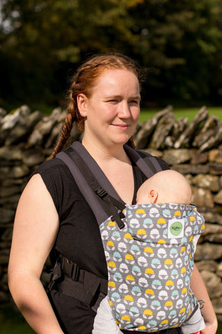 KahuBaby Carrier - Nesting Trees-Buckled carriers-KahuBaby-Koala Slings - FREE, fast UK shipping