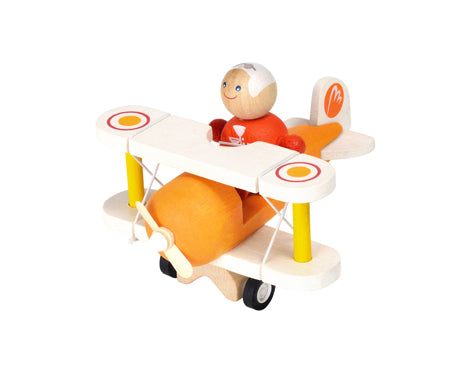 Plan Toys Airplane with Pilot-Toy-Plan Toys-Koala Slings - FREE, fast UK shipping
