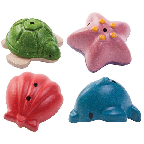 Plan Toys Sea Life Bath Set-Toy-Plan Toys-Koala Slings - FREE, fast UK shipping