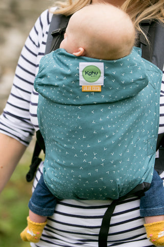 KahuBaby Carrier - Jojo Coco Design - Flocking Birds-Buckled carriers-KahuBaby-Koala Slings - FREE, fast UK shipping