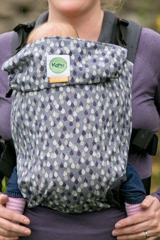 KahuBaby Carrier - Jojo Coco Design - Lakeland Rain-Buckled carriers-KahuBaby-Koala Slings - FREE, fast UK shipping