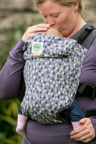 KahuBaby Carrier Hire - Jojo Coco Raindrops - Hire-Sling Library-KahuBaby-Two week hire-Koala Slings - FREE, fast UK shipping