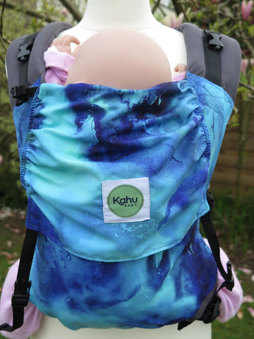KahuBaby Sunshine Carrier - Seafoam-Buckled carriers-KahuBaby-Koala Slings - FREE, fast UK shipping
