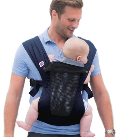 Izmi Toddler Breeze Carrier - Hire-Sling Library-Izmi-Two weeks' hire-Koala Slings - FREE, fast UK shipping