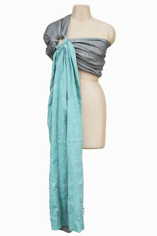 Soul Slings Double Layer Linen Ring Sling - hire-Sling Library-Soul Slings-Two weeks' hire-Koala Slings - FREE, fast UK shipping