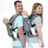 TwinGo Air Carrier - Grey-TwinGo Carrier-TwinGo Carrier-Koala Slings - FREE, fast UK shipping