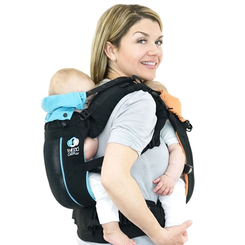 TwinGo Air Carrier - Classic Black-TwinGo Carrier-TwinGo Carrier-Koala Slings - FREE, fast UK shipping