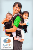 TwinGo Original Carrier black-TwinGo Carrier-TwinGo Carrier-TwinGo Carrier-Koala Slings - FREE, fast UK shipping