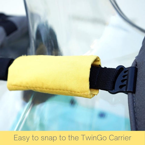 TwinGo Carrier Chest Strap Cover-Accessories-TwinGo Carrier-Koala Slings - FREE, fast UK shipping