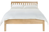 "Silentnight Horton Pine Bed 4' 6"" Double -  - 4"