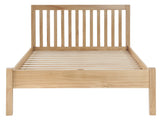 "Silentnight Hayes Pine Bed 4' 6"" Double -  - 6"