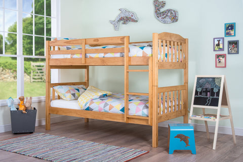 Silentnight Pippin Bunkbed Natural Finish - Beds Direct - 1