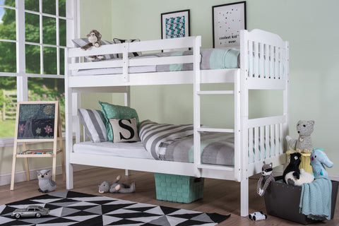 Silentnight Pippin Bunkbed White Finish - Beds Direct - 1