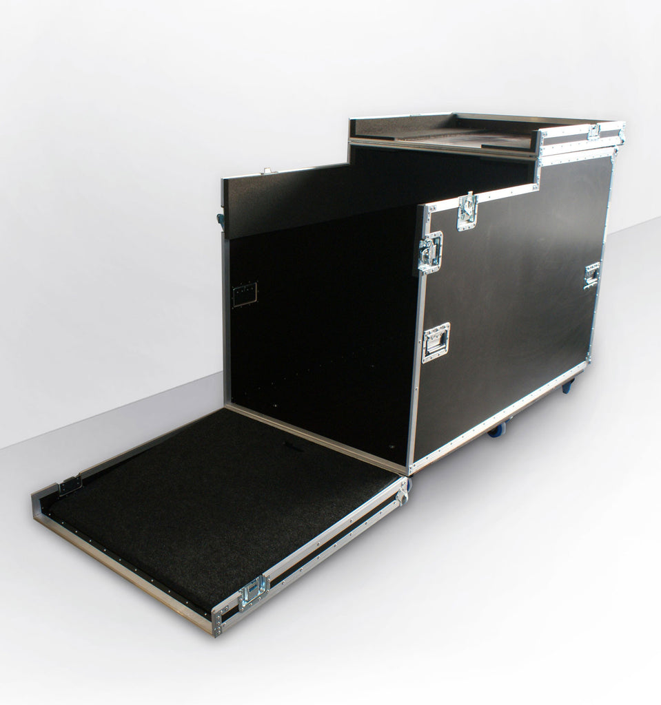 Portable Exhibition Case : Exhibition flight cases exhibition stand case abs cases