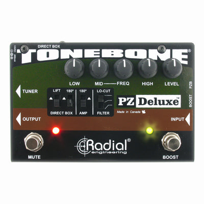 Radial Engineering Tonebone PZ Deluxe