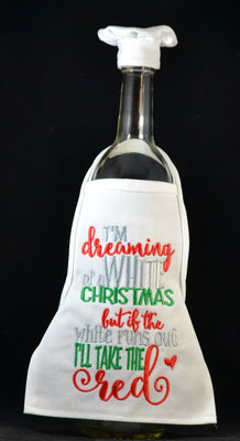 Wine Bottle Apron - Dreaming
